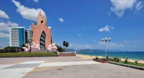 Nha Trang nadbrzeże, Wietnam zdjęcia royalty free