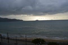 Nha Trang plaża Zdjęcia Stock