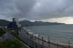 Nha Trang plaża Fotografia Royalty Free