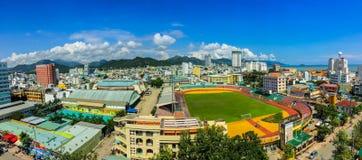 Nha Trang stad Arkivbilder