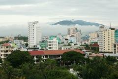 Nha Trang stad i Vietnam Royaltyfri Bild