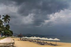 Nha Trang strand Arkivbilder