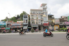 Nha Trang street view in Vietnam Royalty Free Stock Image