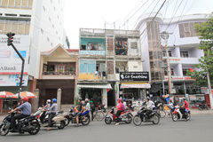 Nha Trang street view Royalty Free Stock Photo
