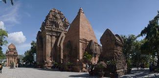 Nha Trang, torre di Cham, Vietnam Immagine Stock