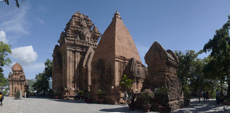Nha Trang, tour de Cham, Vietnam Image stock