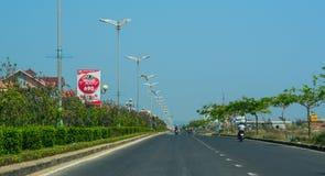 Highway in Nha Trang, Vietnam stock photo