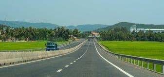 Highway in Nha Trang, Vietnam stock photos