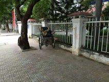 Nha Trang, Wietnam, dnia tajny agent fotografia royalty free