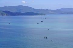 Nha Trang zatoka Obrazy Royalty Free