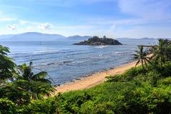 Nha Trang zatoka, Wietnam Obraz Royalty Free