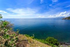 Nha Trang zatoka, Wietnam Obraz Stock