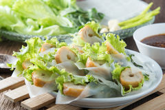 Nham должное, въетнамская еда Стоковая Фотография