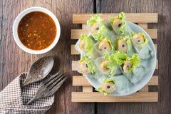Nham debido, comida vietnamita Fotos de archivo