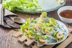 Nham due, Vietnamese food. On a wooden floor Stock Image