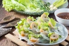 Nham gepast, Vietnamees voedsel Royalty-vrije Stock Afbeeldingen