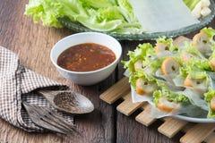 Nham należny, Wietnamski jedzenie Zdjęcie Royalty Free