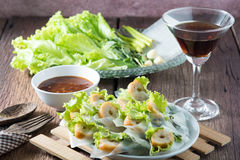 Nham należny, Wietnamski jedzenie Zdjęcia Royalty Free