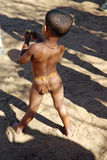 Nharo Bushman Boy stock photography
