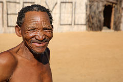Nharo Bushman Royalty Free Stock Photography