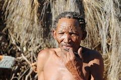 Nharo Bushman Stock Image