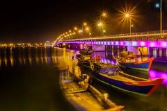 Nhat Le Przerzucający most zdjęcie royalty free