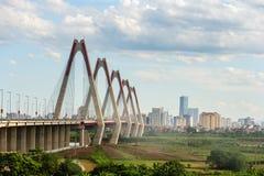 Nhat tan Bridge Stock Image
