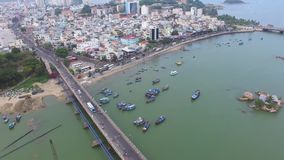 NhaTrang Vietnam stock footage