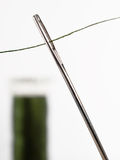 Nähende Nadel Stockbild