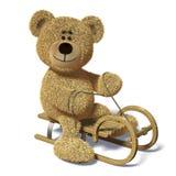 розвальни nhi медведя Стоковое Фото