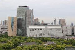 NHK och Osaka Museum av historia royaltyfria foton