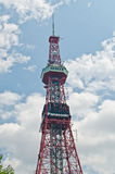 NHK Sendungskontrollturm, Sapporo, Hokkaido, Japan Lizenzfreie Stockbilder