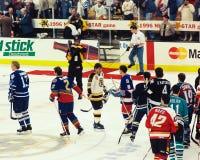 1996 NHL全明星赛 免版税库存图片