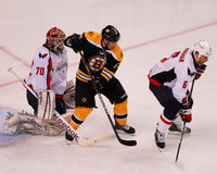 2012 NHL-Beslissingsmatches, Bruins v kapitalen Royalty-vrije Stock Fotografie