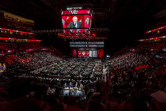 2015 Nhl draft - de Coyotes van Arizona Stock Foto's