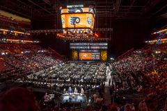 2015 Nhl draft - Philadelphia Flyers Lizenzfreies Stockfoto