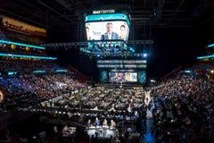 Nhl draft 2015 - Timo Meier - San Jose Sharks Lizenzfreie Stockfotos
