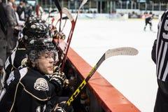 NHL Draftee Ντάνιελ Sprong Στοκ Εικόνες