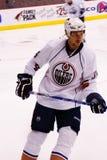 NHL forward Fernando Pisani of the Edmonton Oilers Stock Image