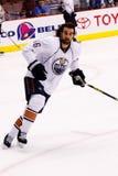 NHL forward Zack Stortini of the Edmonton Oilers Royalty Free Stock Image
