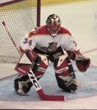 NHL Goalie John Vanbiesbrouck royalty-vrije stock foto
