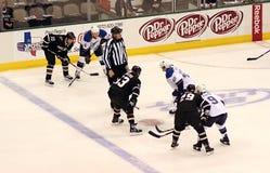 NHL Hockey Game Stock Image