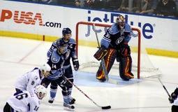 NHL Hockey Players Royalty Free Stock Image