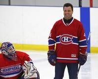 Nhl-hockey Stephane Richer Smiles Royaltyfri Bild