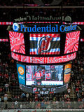 NHL scoreboard Stock Photo
