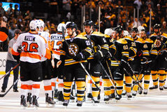 NHL Traditional handshake. Stock Photography