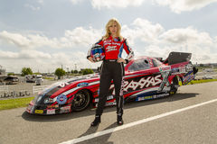 NHRA:  Apr 18 ZMAX Commercial Royalty Free Stock Image