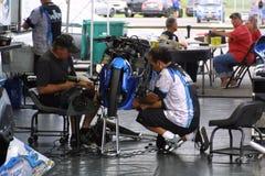 NHRA au parc 2018 de sports mécaniques de passage photos libres de droits