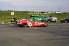 NHRA en el parque 2018 del Motorsports de la entrada fotografía de archivo libre de regalías