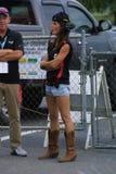 NHRA en el parque 2018 del Motorsports de la entrada fotografía de archivo